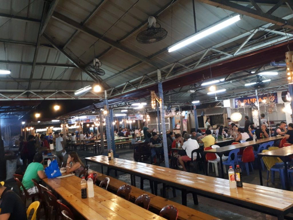 The inside view of the newly renovated Larsian sa Fuente in Cebu City