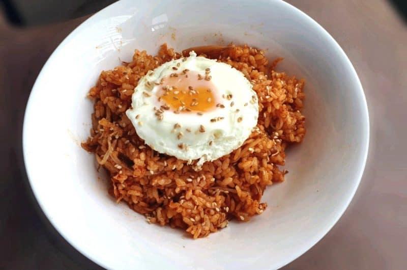A Simple Kimchi Fried Rice Recipe