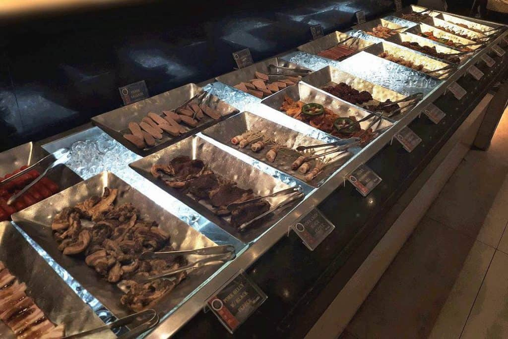Varieties of meat to grill in Yakimix