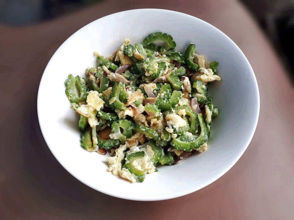 Ginisang Ampalaya With Egg Recipe The Odehlicious