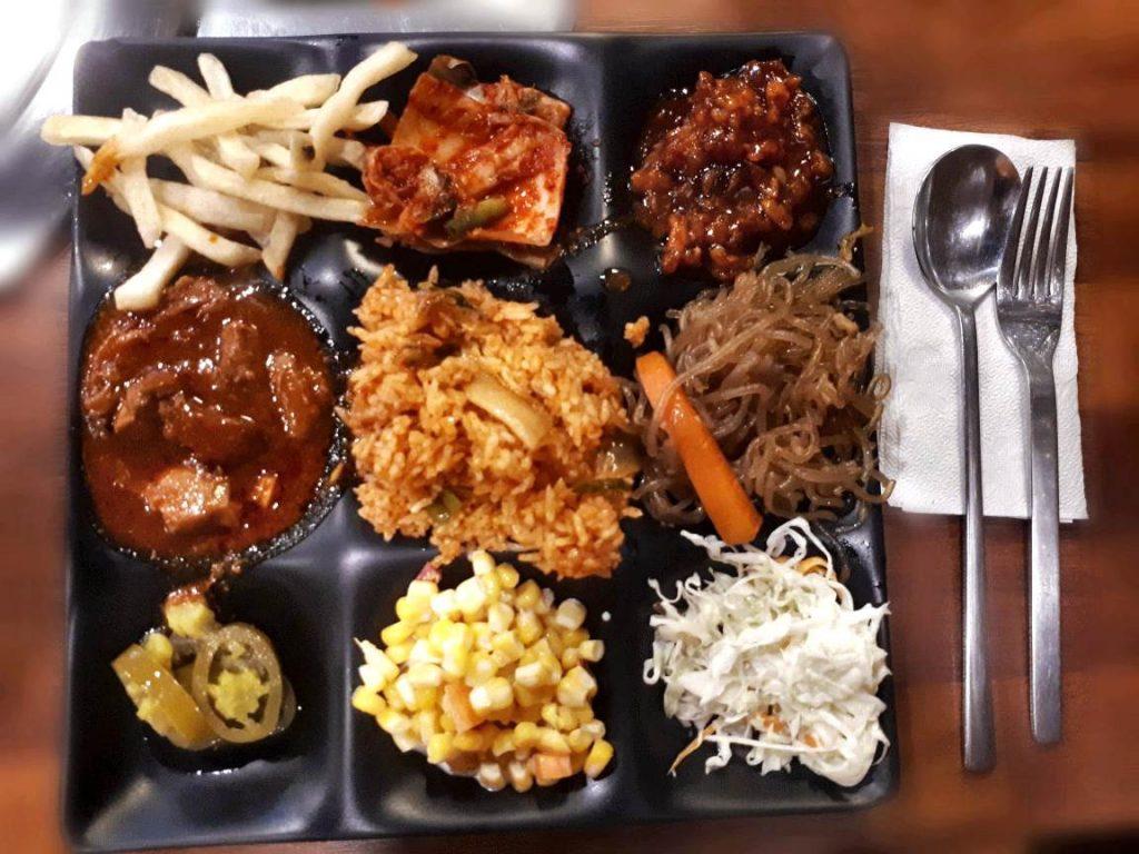 Korean food in Barangay Seoul in Cebu
