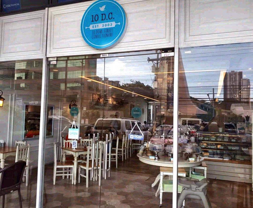 10 Dove Street Confectionery in Cebu City