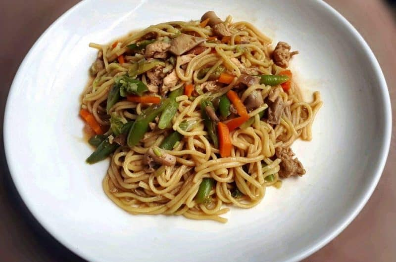 A delicious Chicken Pancit Canton Recipe