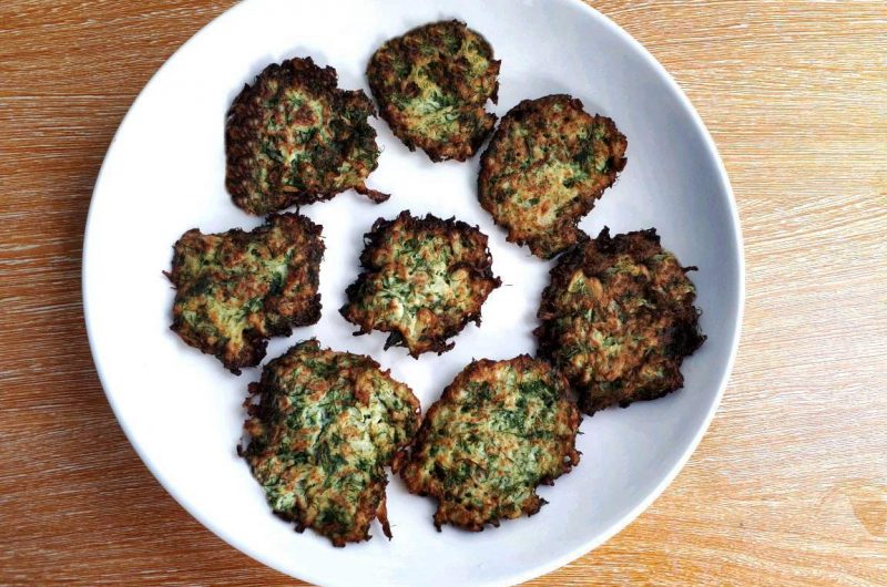 Keto Cauliflower Fritters Recipe