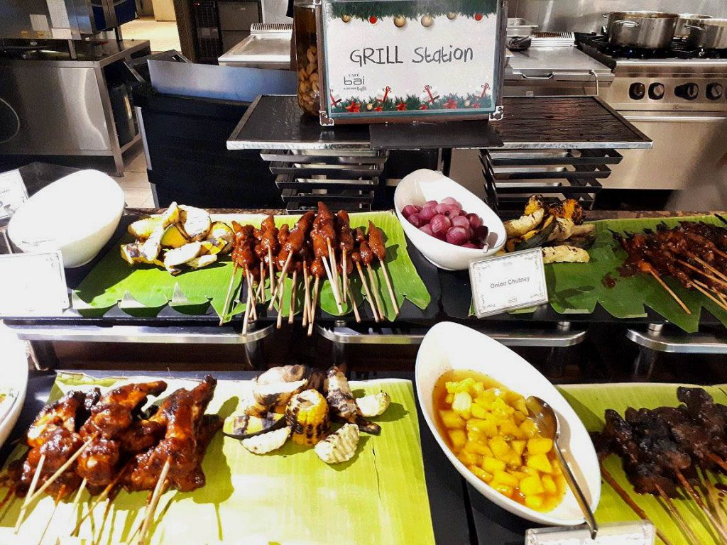 Grilling Station in Cafe Bai in Bai Hotel in Mandaue City