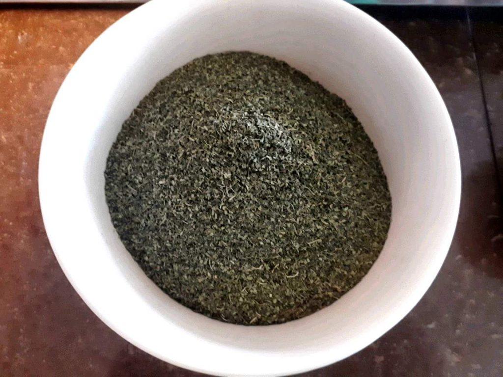 A Molokhia powder