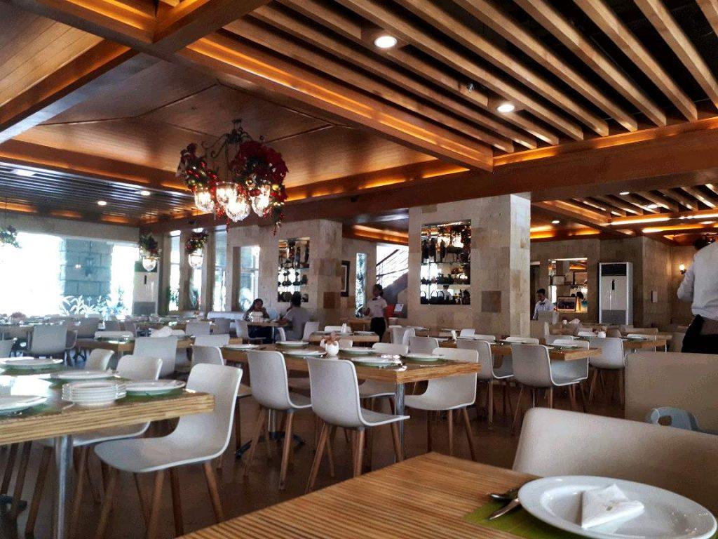 Inside Laguna Garden Cafe