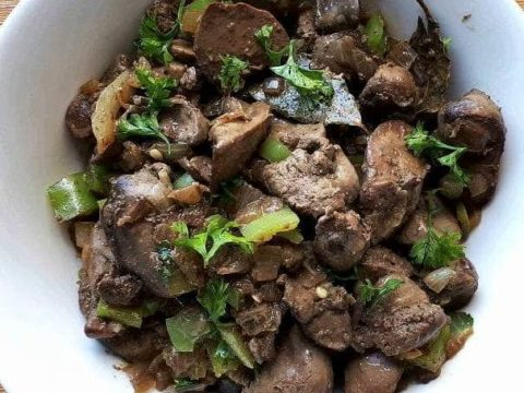 Healthy Sauteed Chicken Liver Recipe The Odehlicious
