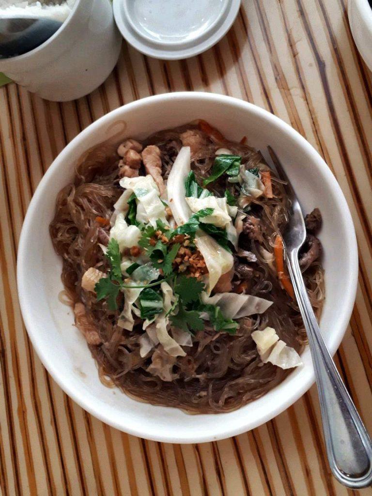 Pancit Sotanghon in Laguna Garden Cafe