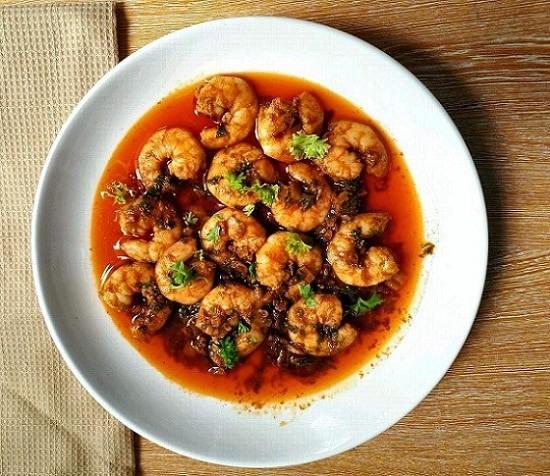 Spanish Garlic Prawns Recipe (Gambas al Ajillo)