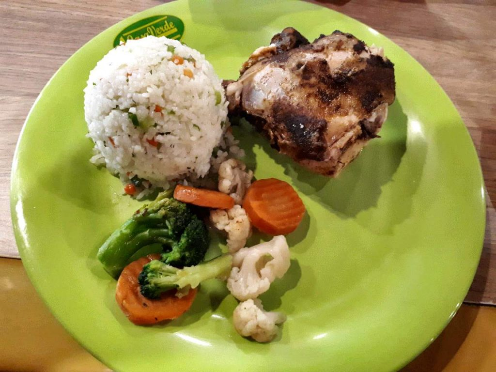 Roasted Seasoned Chicken in Casa Verde Cebu