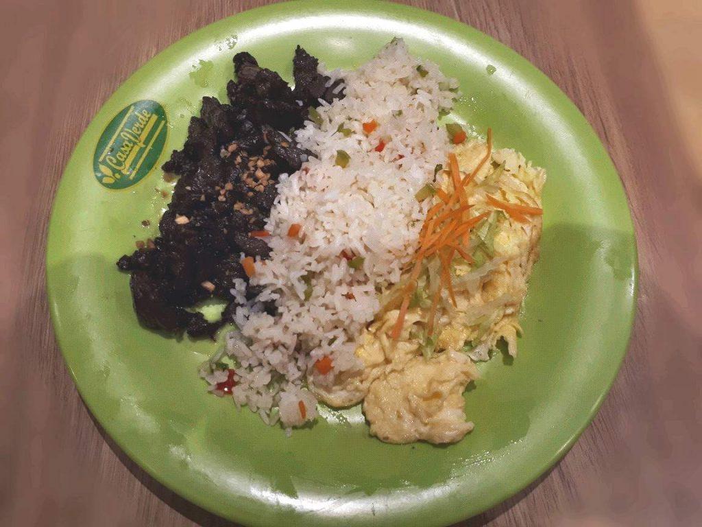 Tenderloin Tips and Eggs in Casa Verde Cebu