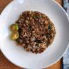 Bangus Sisig served with calamansi