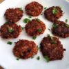 Corned Beef Hash Patties garnished with parsley