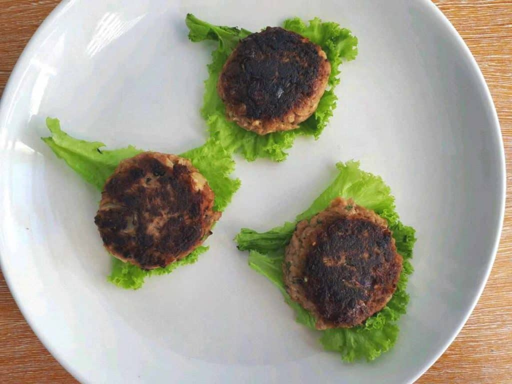 Keto Tuna Patties Recipe