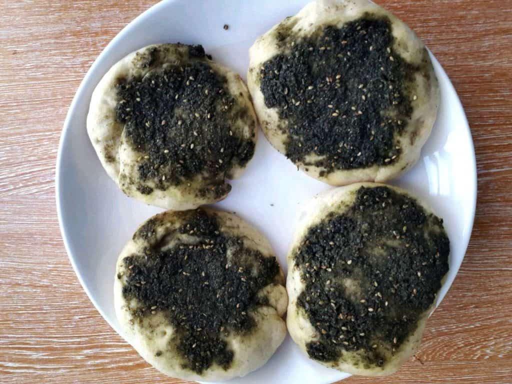 Zaatar Bread Recipe (Zaatar Manakish)
