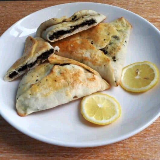 Spinach Fatayer Recipe (Sabanekh)