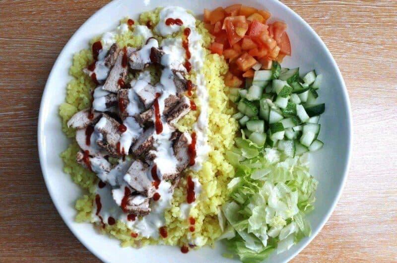 Chicken Shawarma Rice Recipe