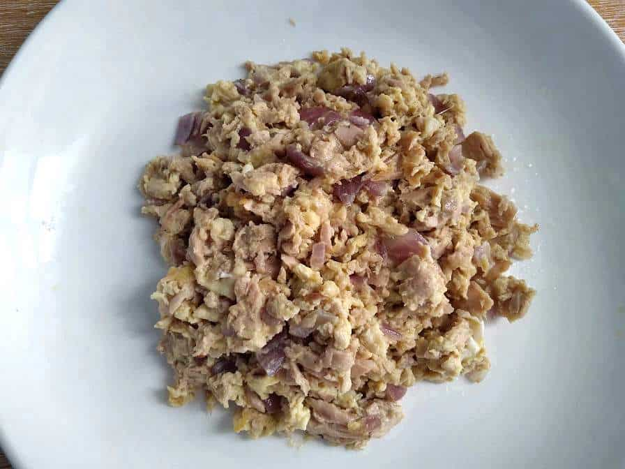 Tuna Scrambled Egg