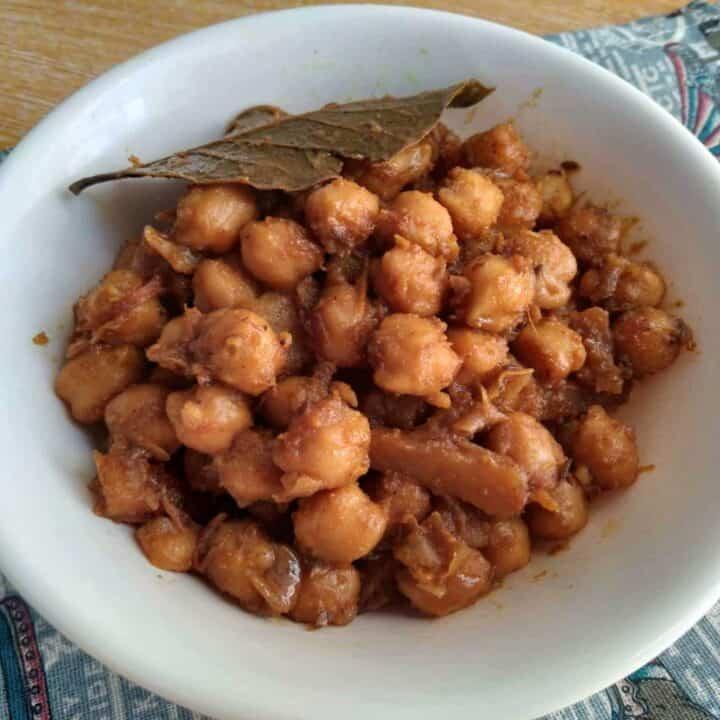 Aloo Chole Recipe