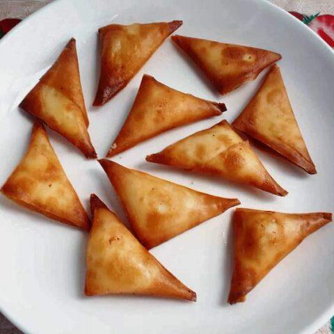 cheese samosas recipe