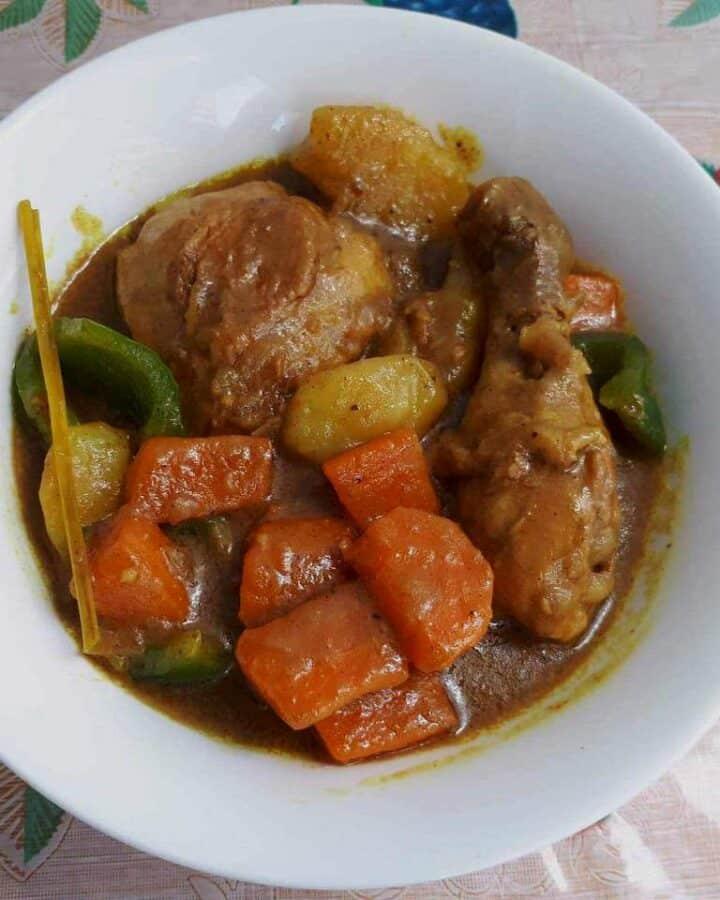 Filipino Chicken Curry